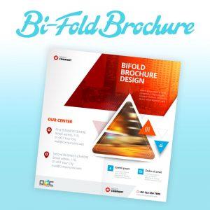 Custom Bi-Fold Brochure Design - Online Design Club