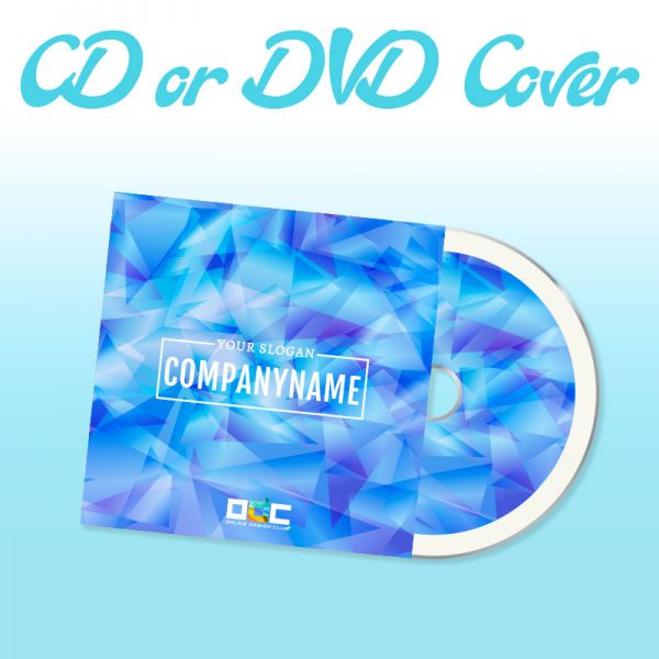 Custom CD or DVD cover Design Company | Online Design Club