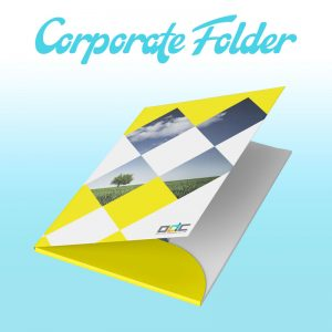 Corporate folder design services | Online Design Club