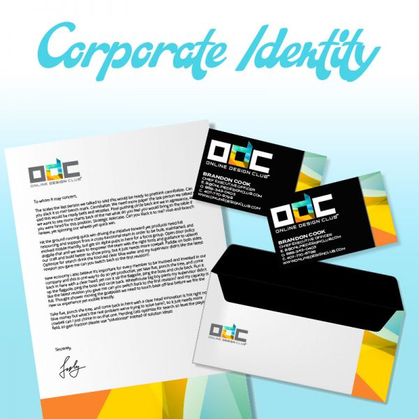 Corporate Identity Design Company | Online Design Club