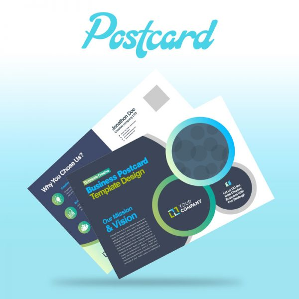 PostCard Design - Online Design Club