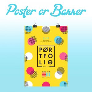 Poster or Banner Design - Online Design Club
