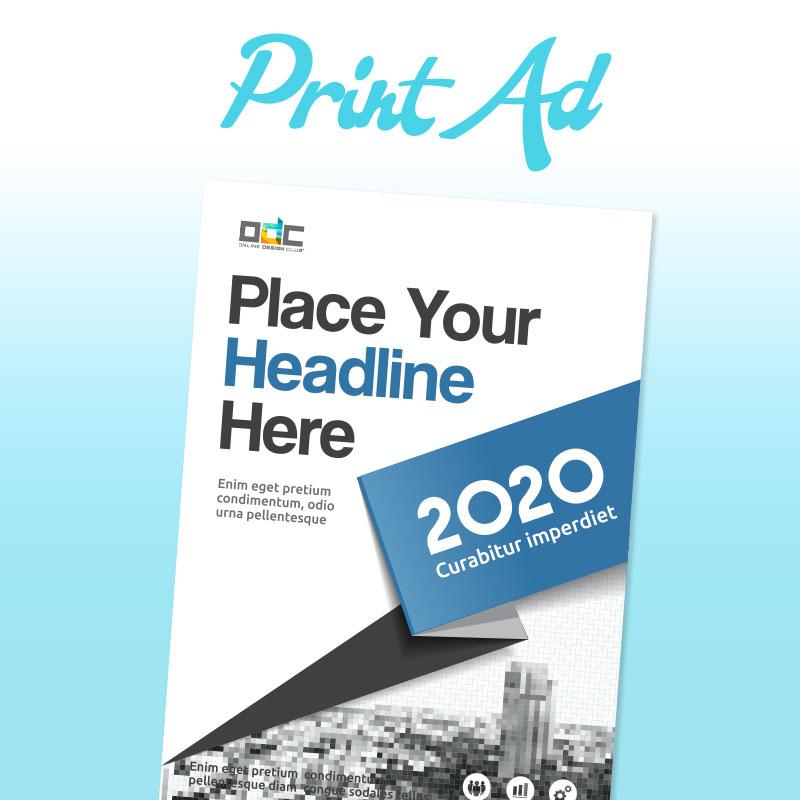 Print Ad Design Online Design Club