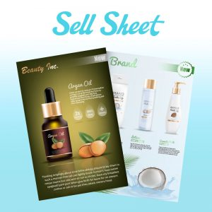 Custom Sell Sheet Design Company | Online Design Club
