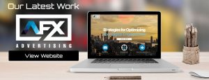 Advertising Company Website Design