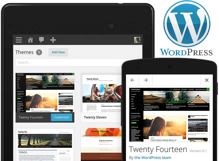 WordPress Website Design & Development Business Services