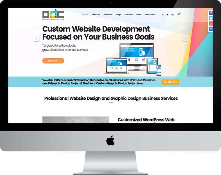 beautiful website design