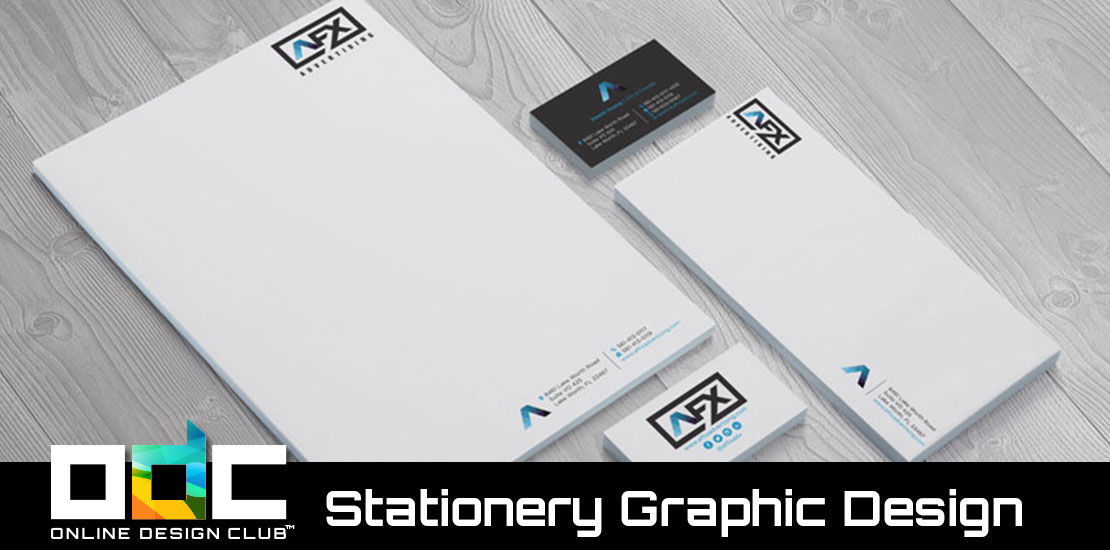 Stationery Graphic Design Will Help Your Business Look Professional