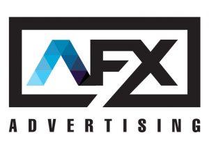 Advertising company logo design