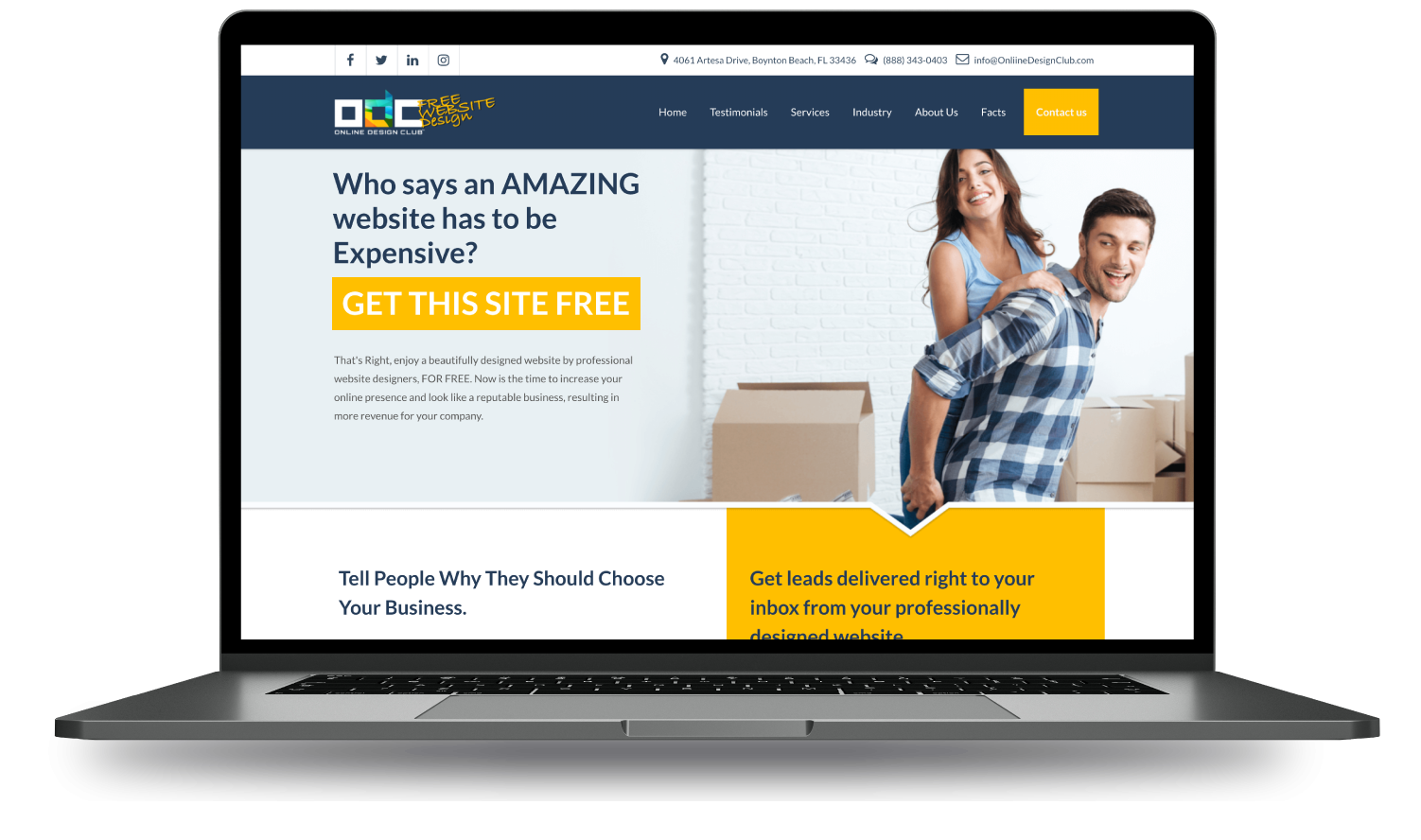 free wordpress website design by experts